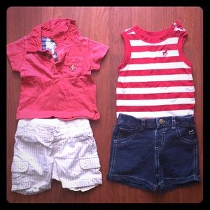 Cute baby boy summer outfits